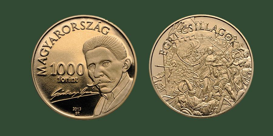 Hungary. 1,000 Forint 2013.