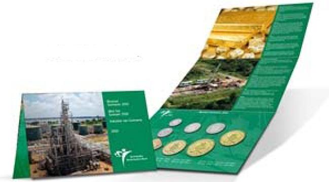 Suriname Mint Set 2013
