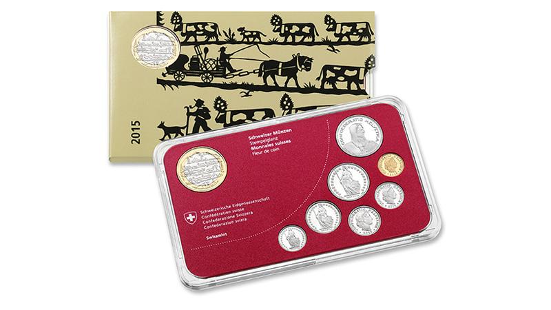 Switzerland 2015 Mint Set