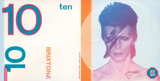 David Bowie £10